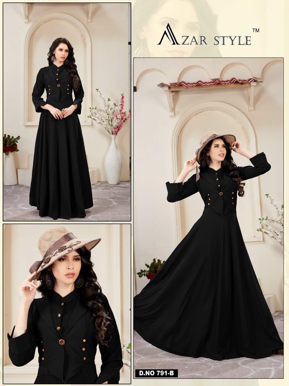 Azar Style Razee Fabrics 791B