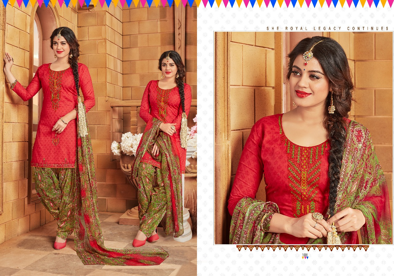 Chandra Fashion Patiyala The Swag 1001