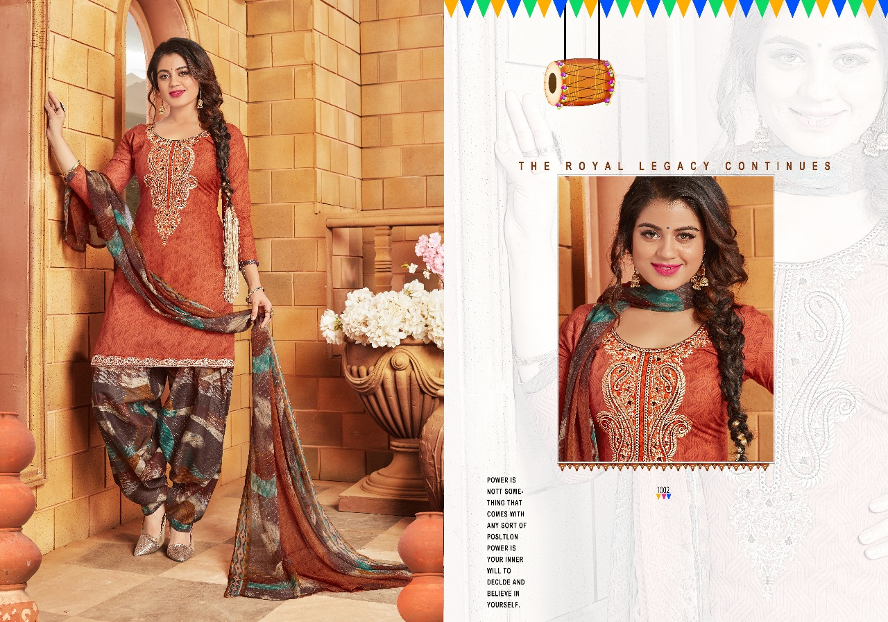 Chandra Fashion Patiyala The Swag 1002