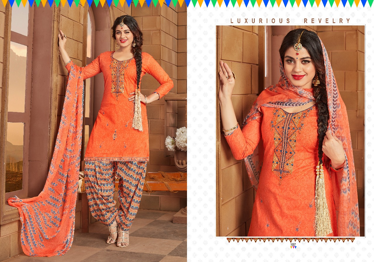 Chandra Fashion Patiyala The Swag 1007