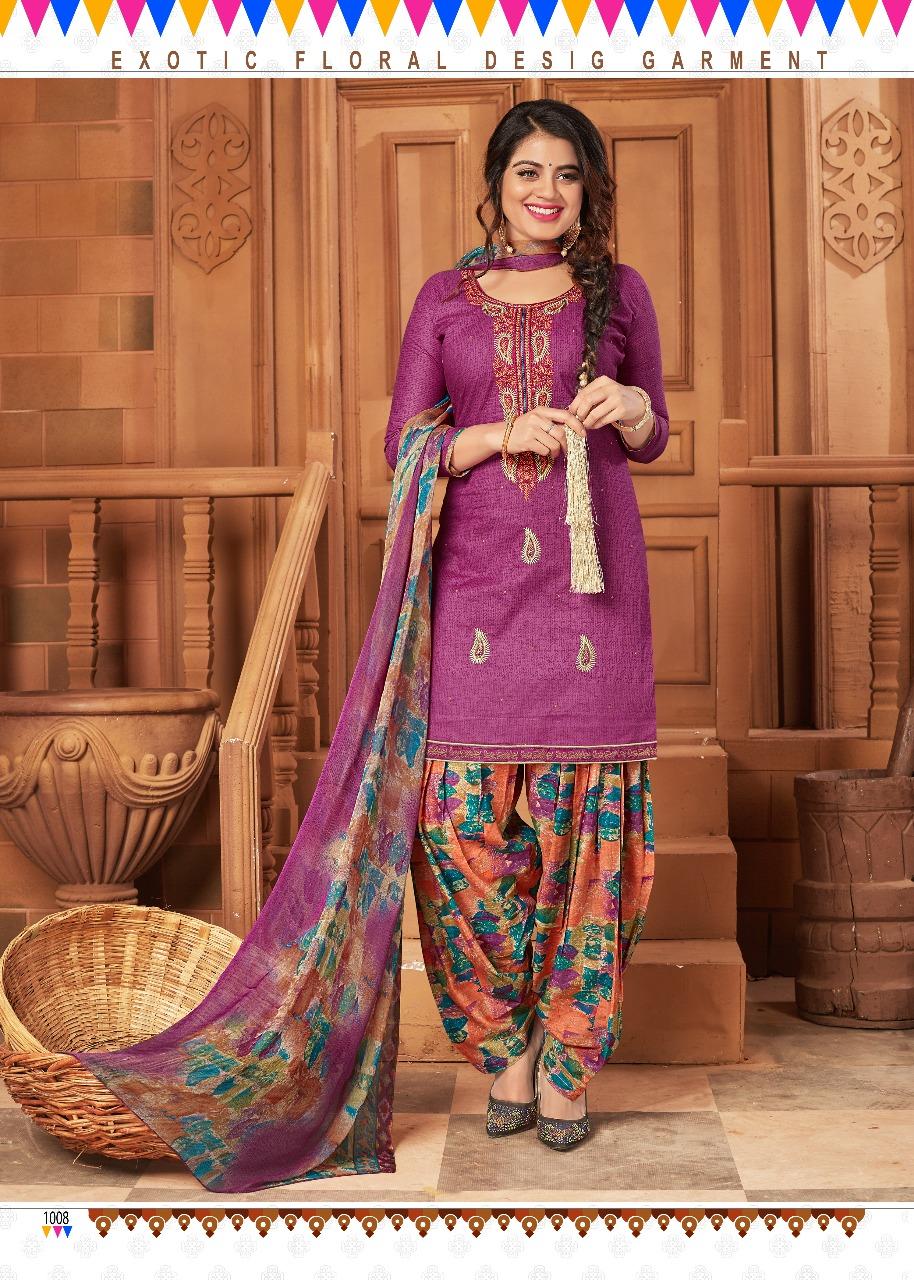 Chandra Fashion Patiyala The Swag 1008
