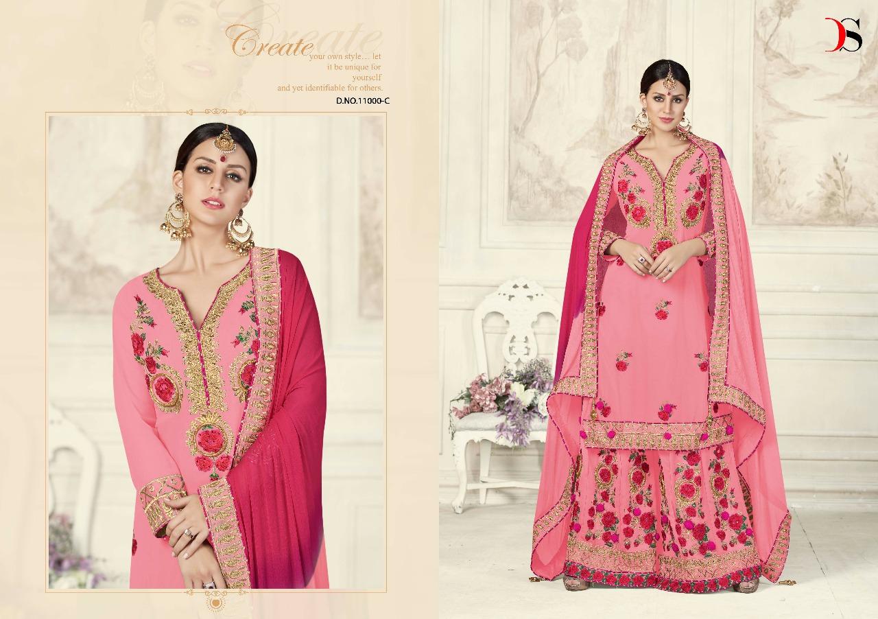 Deepsy Suits Dulhan Platinum Bridal Collection 11000C