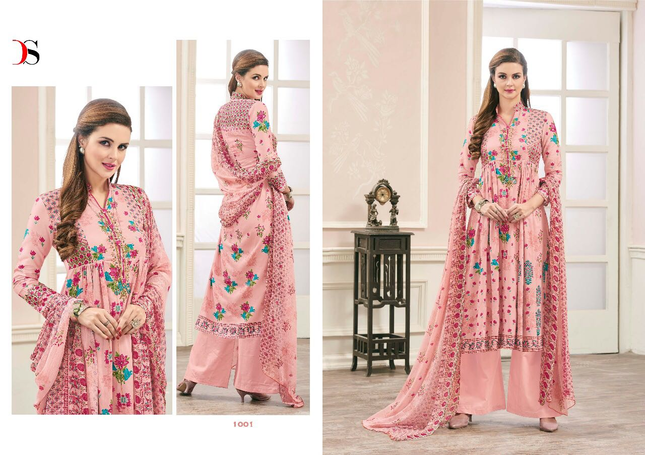 38f360202b Attraction Designer Salwar Suits By DEEPSY SUITS 1001 TO 1008 New ...