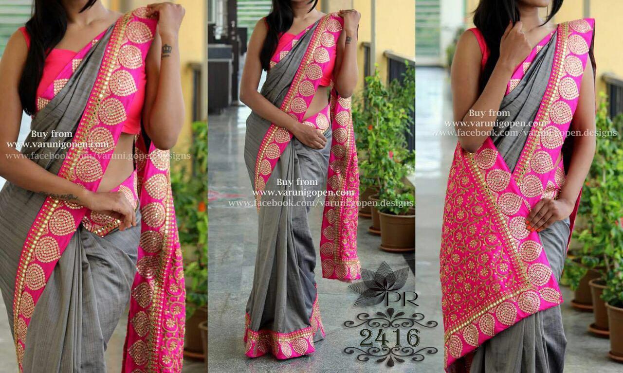 Designer Exclusive Saree PR 2416