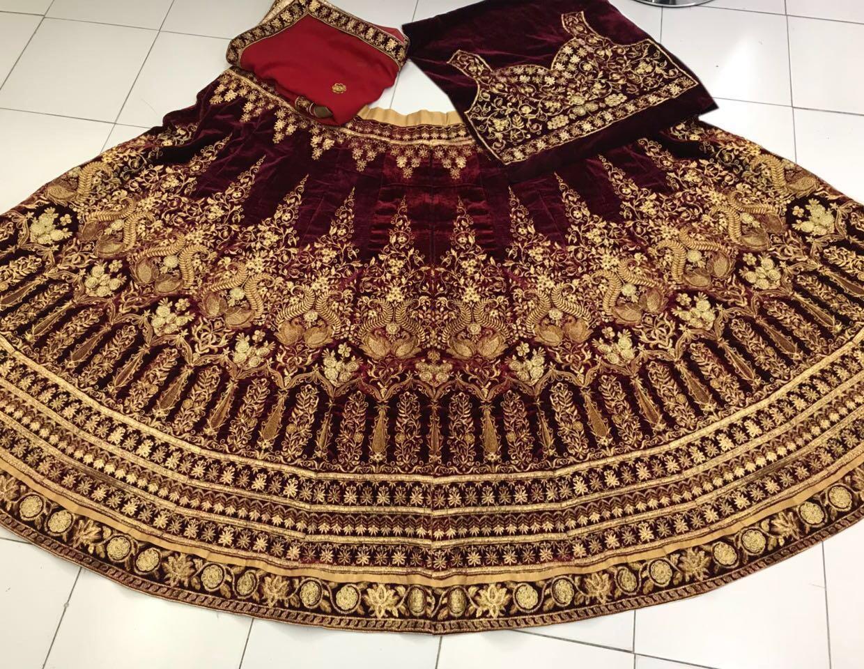 Designer Bridal Lehenga 1401