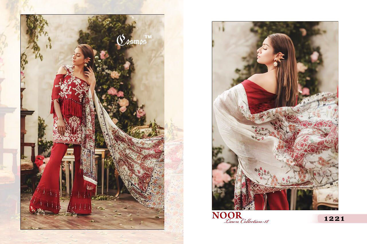 Cosmos Noor Lawn Collection 1221
