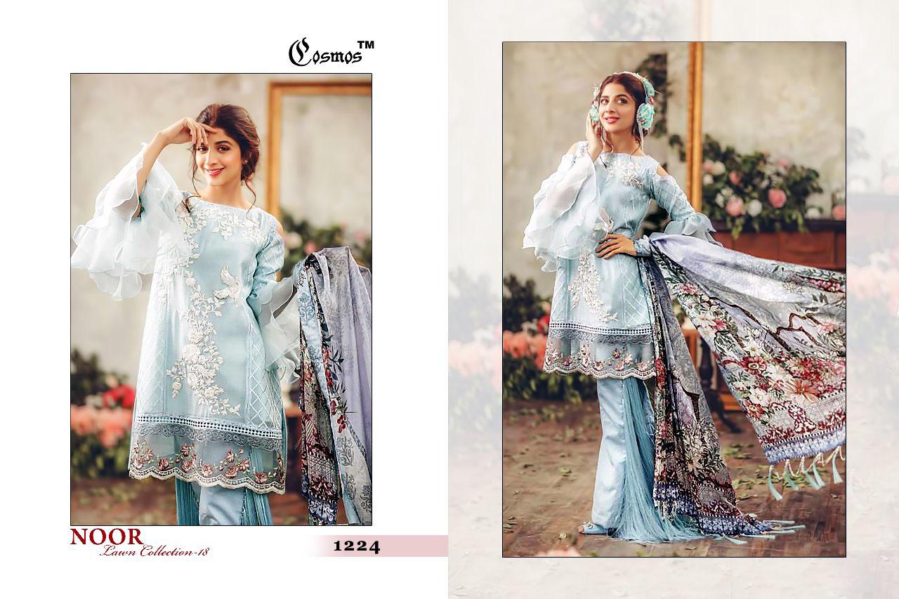 Cosmos Noor Lawn Collection 1224