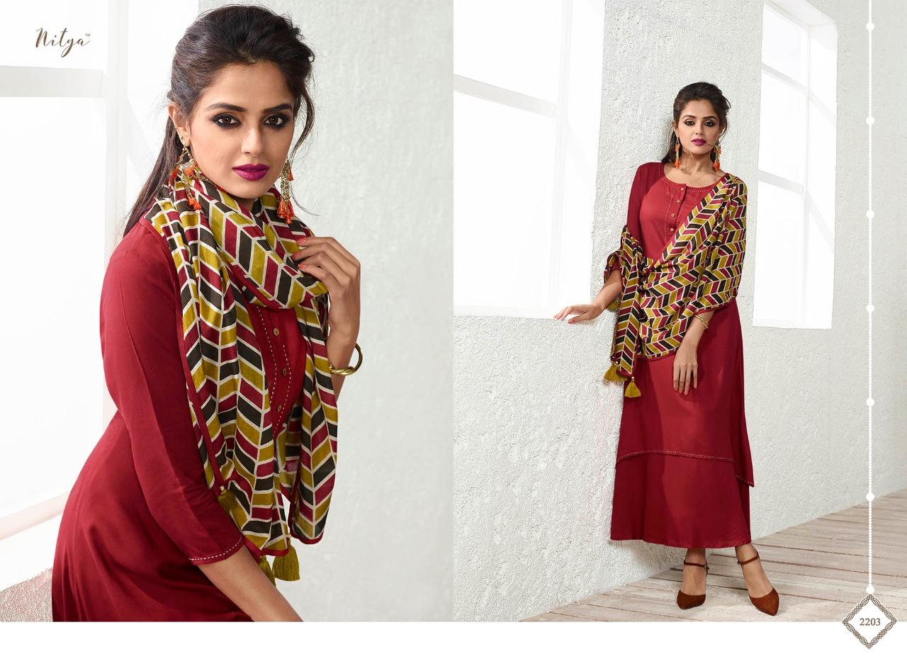 LT Fabrics Nitya NX 2203