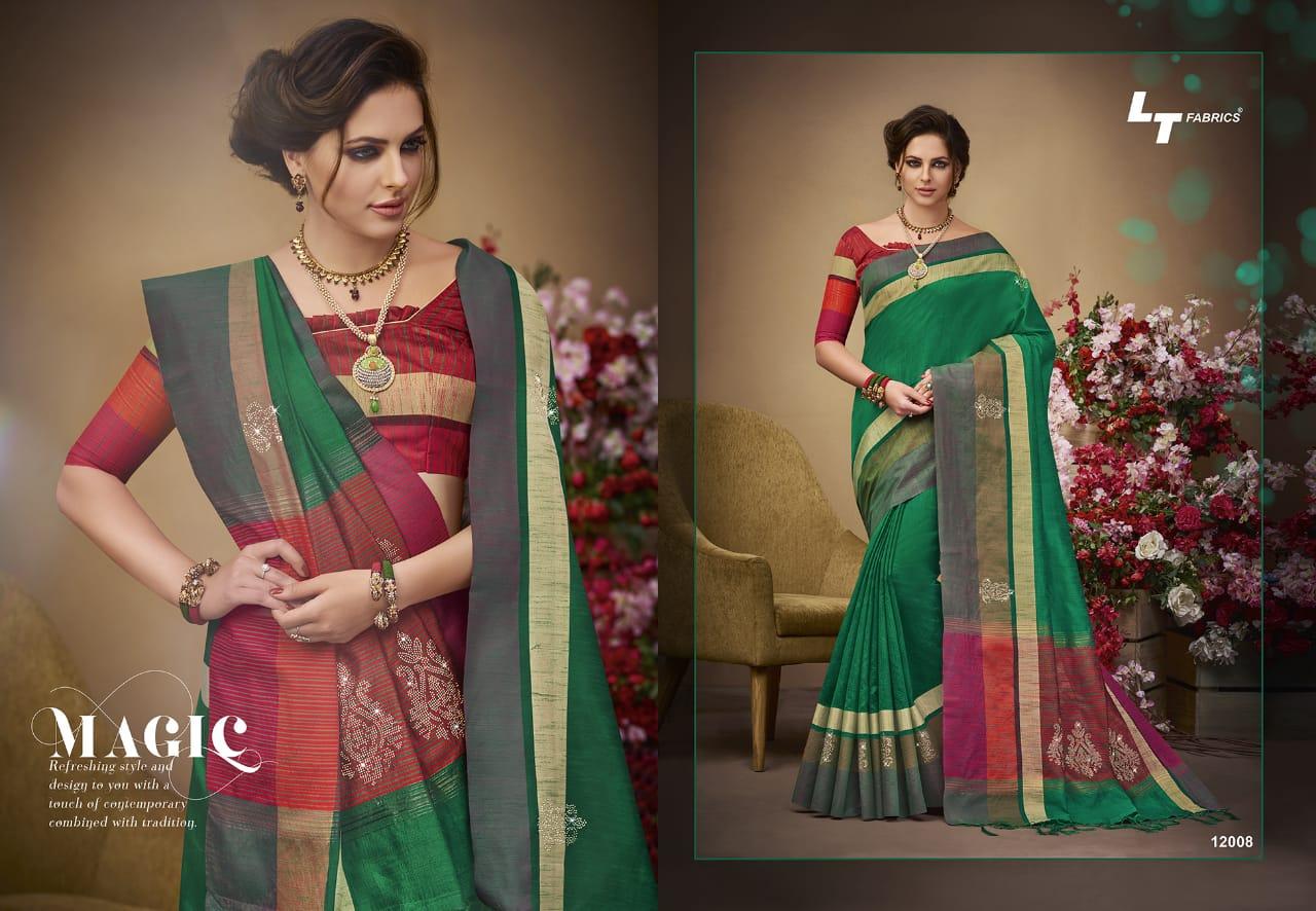 LT Fabrics Sangini 12008