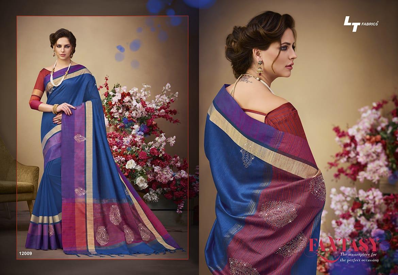 LT Fabrics Sangini 12009