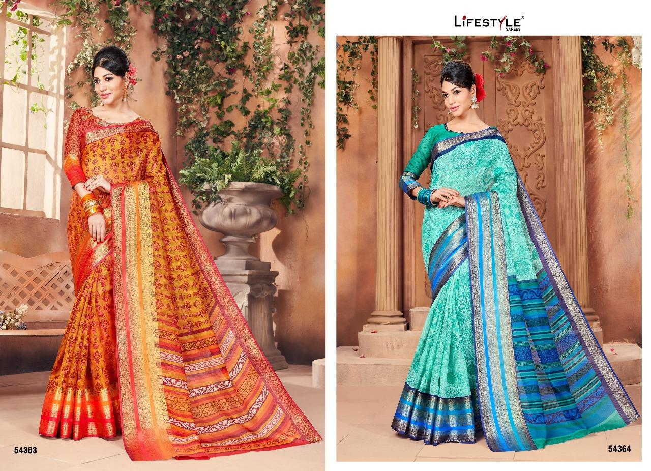 Lifestyle Paakhi Cotton 54363 54364