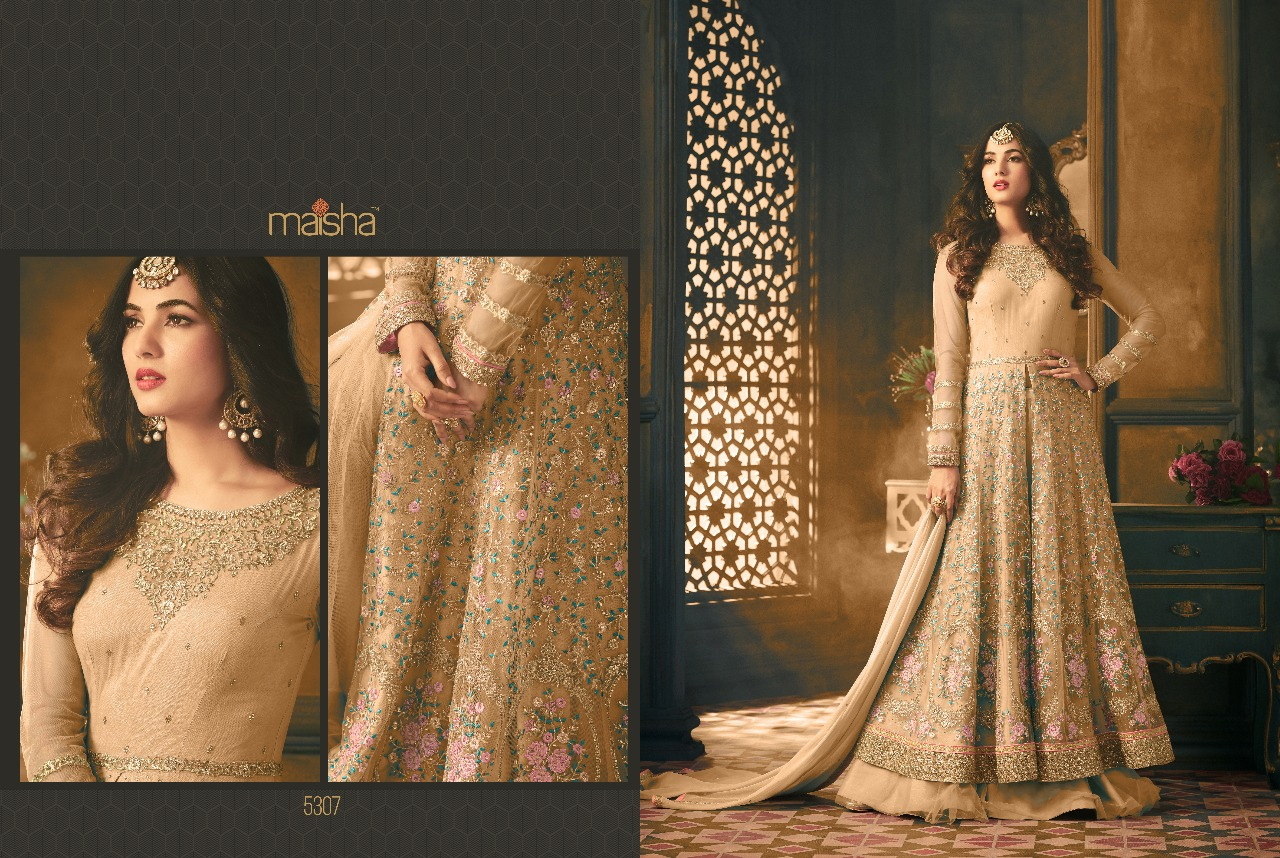 256bc1ab31 Tihor Designer Suits By MAISHA MASKEEN 5307 COLOR New Designs ...