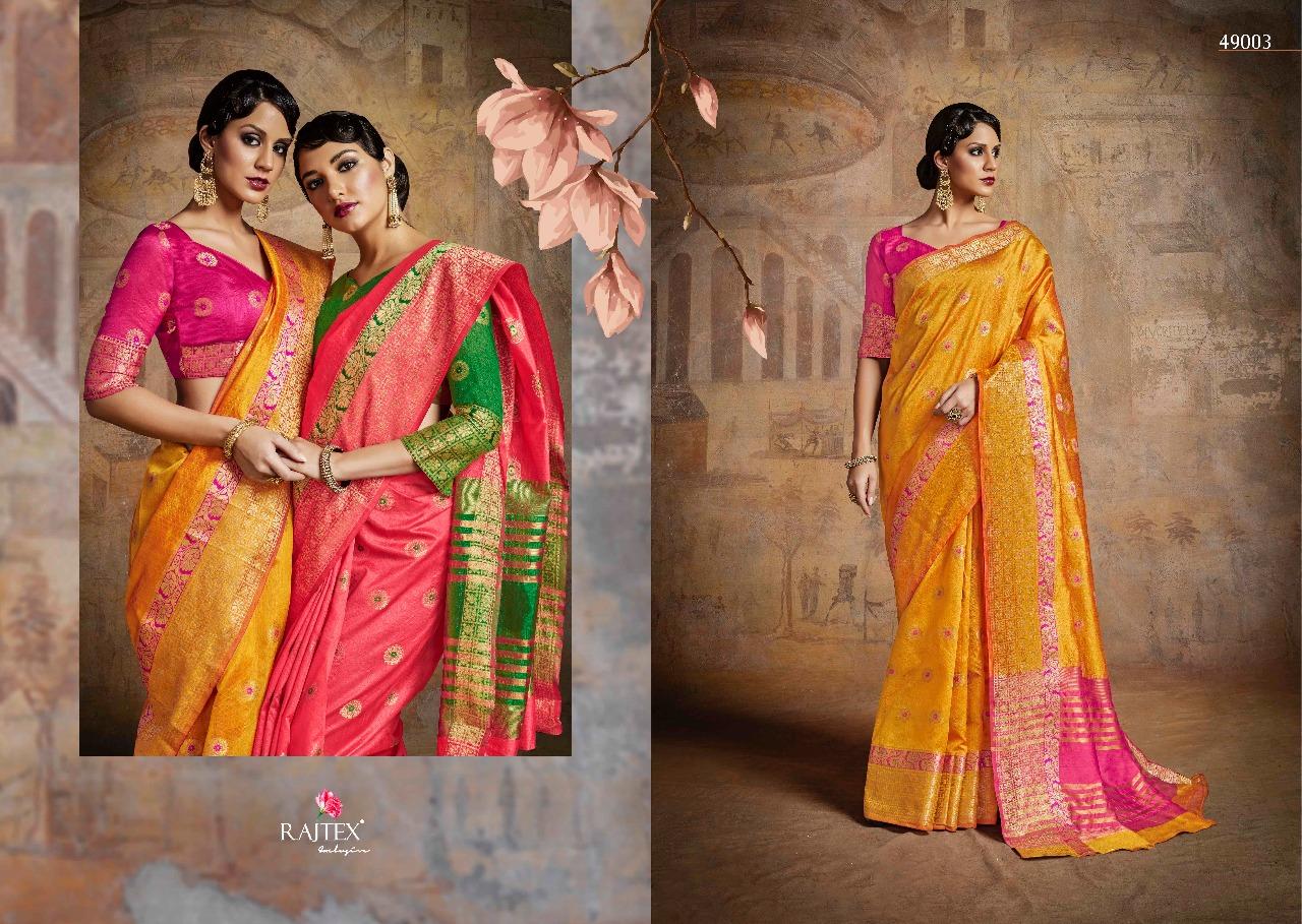 Rajtex Saree Kairra Silk 49003