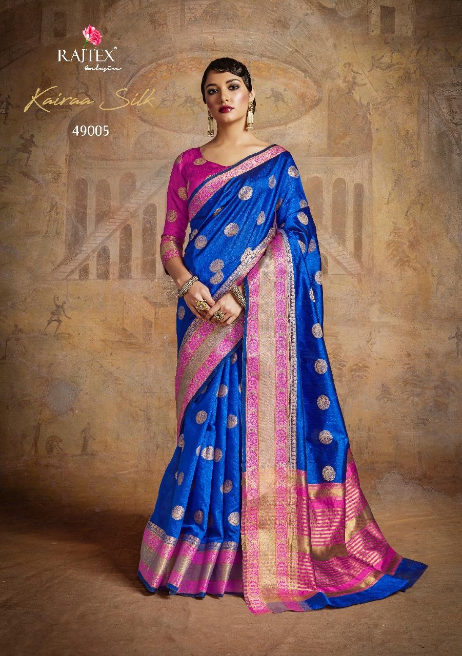 Rajtex Saree Kairra Silk 49005