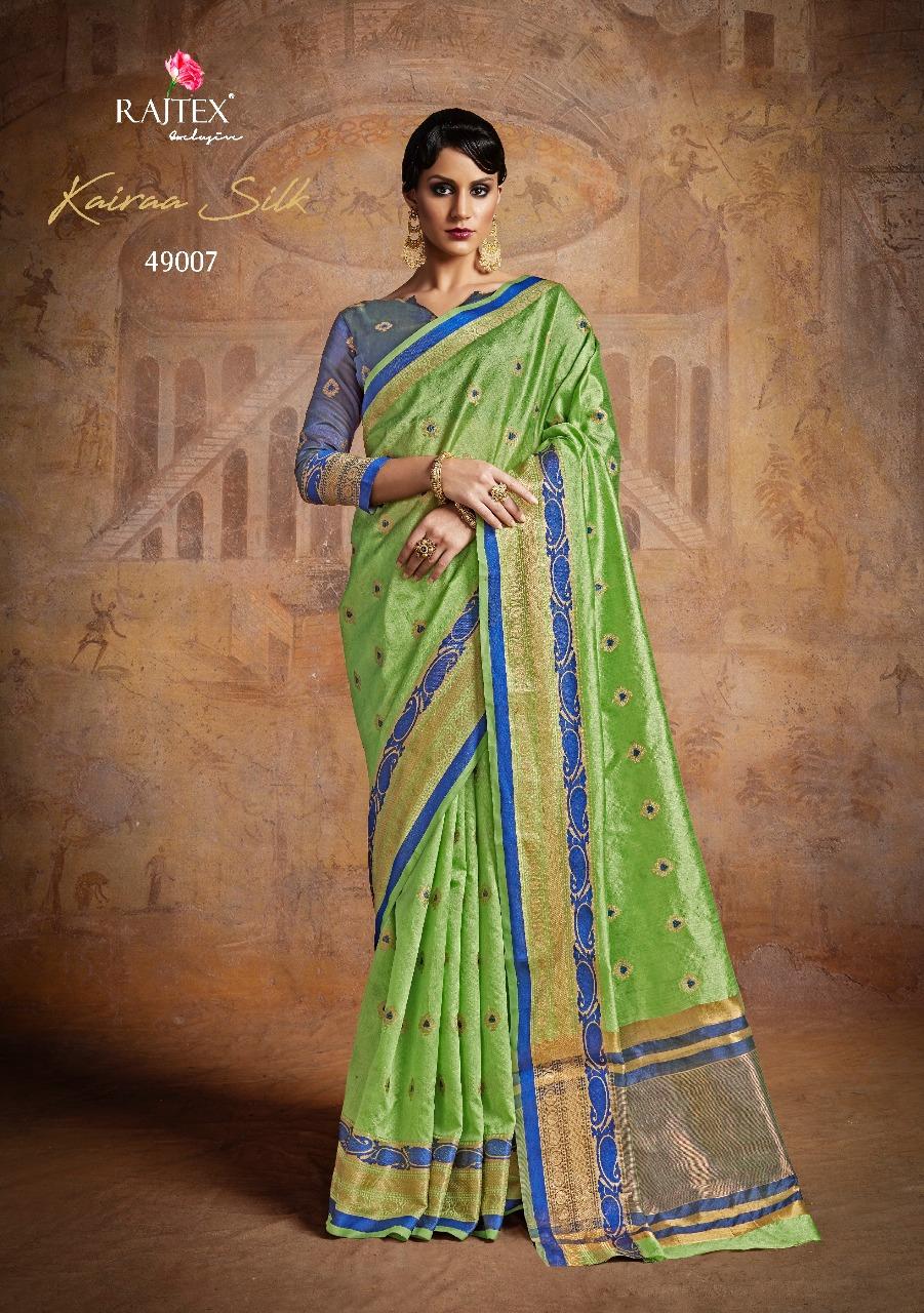 Rajtex Saree Kairra Silk 49007