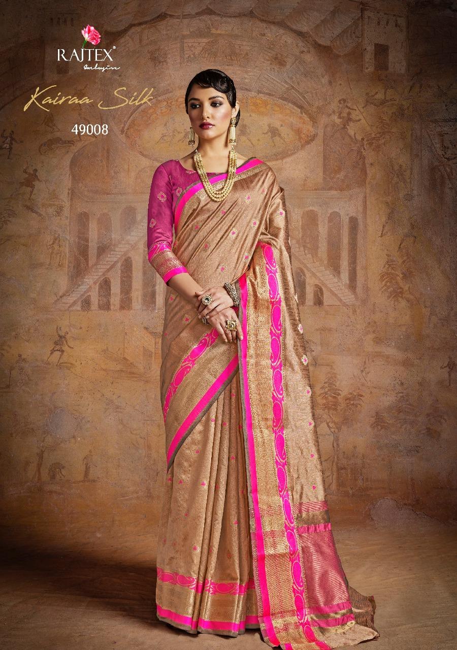 Rajtex Saree Kairra Silk 49008