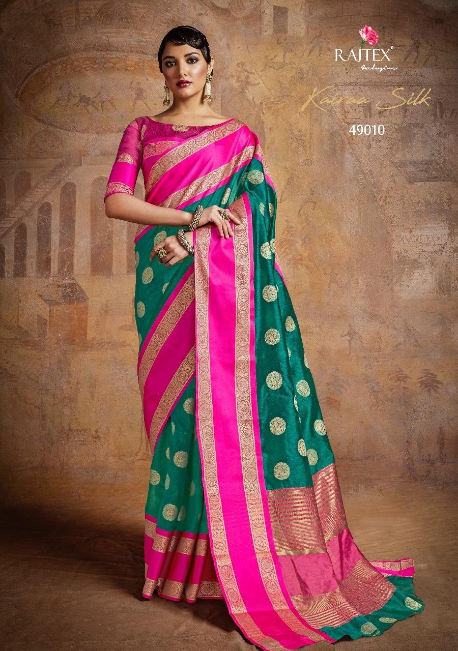 Rajtex Saree Kairra Silk 49010