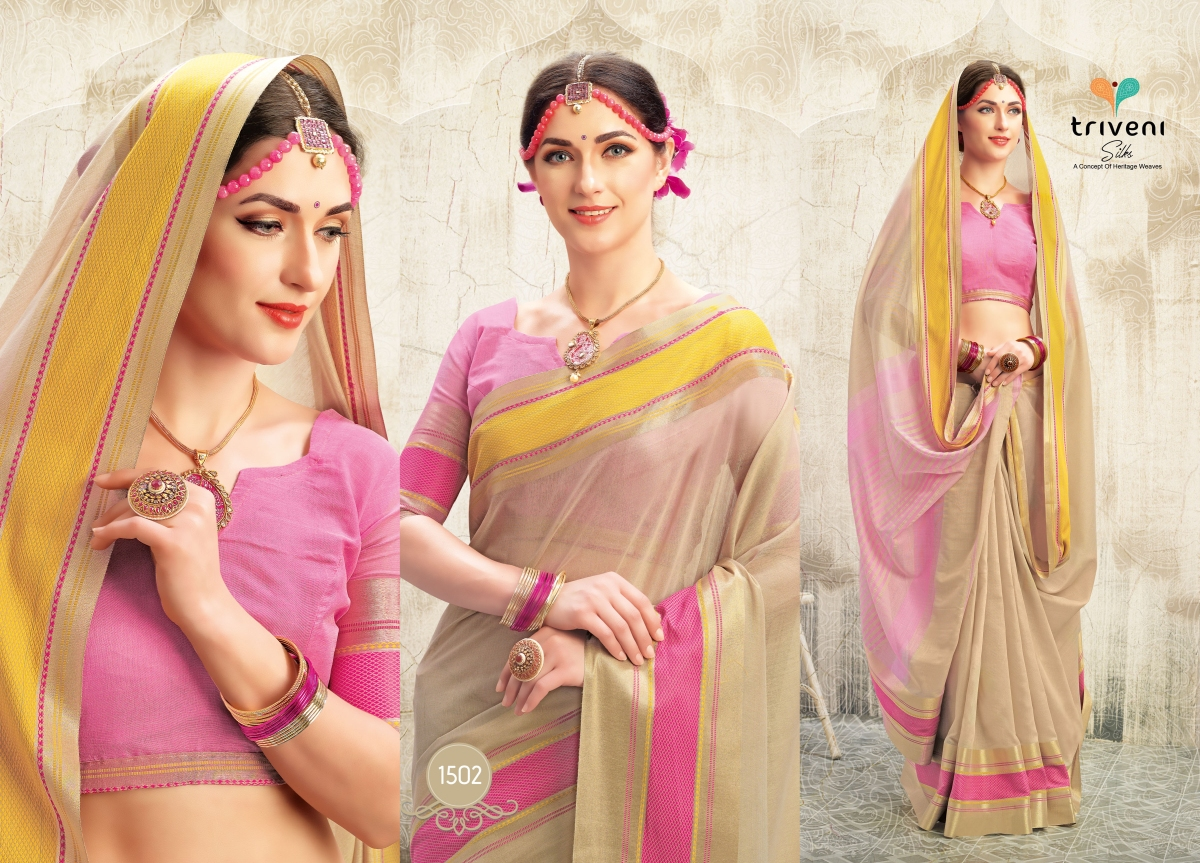 Triveni Saree Astha 1502