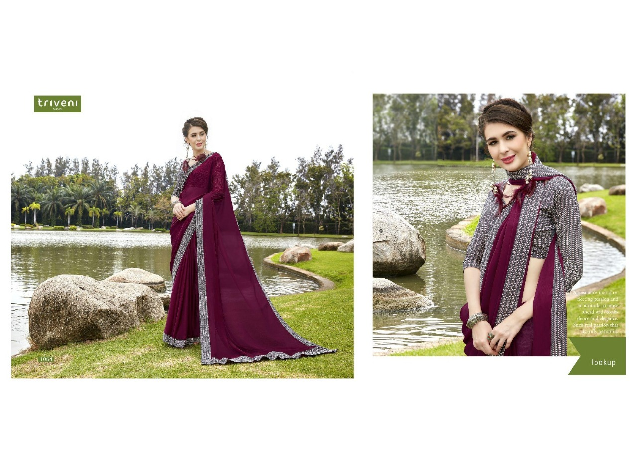 Triveni Saree Shayna 1064