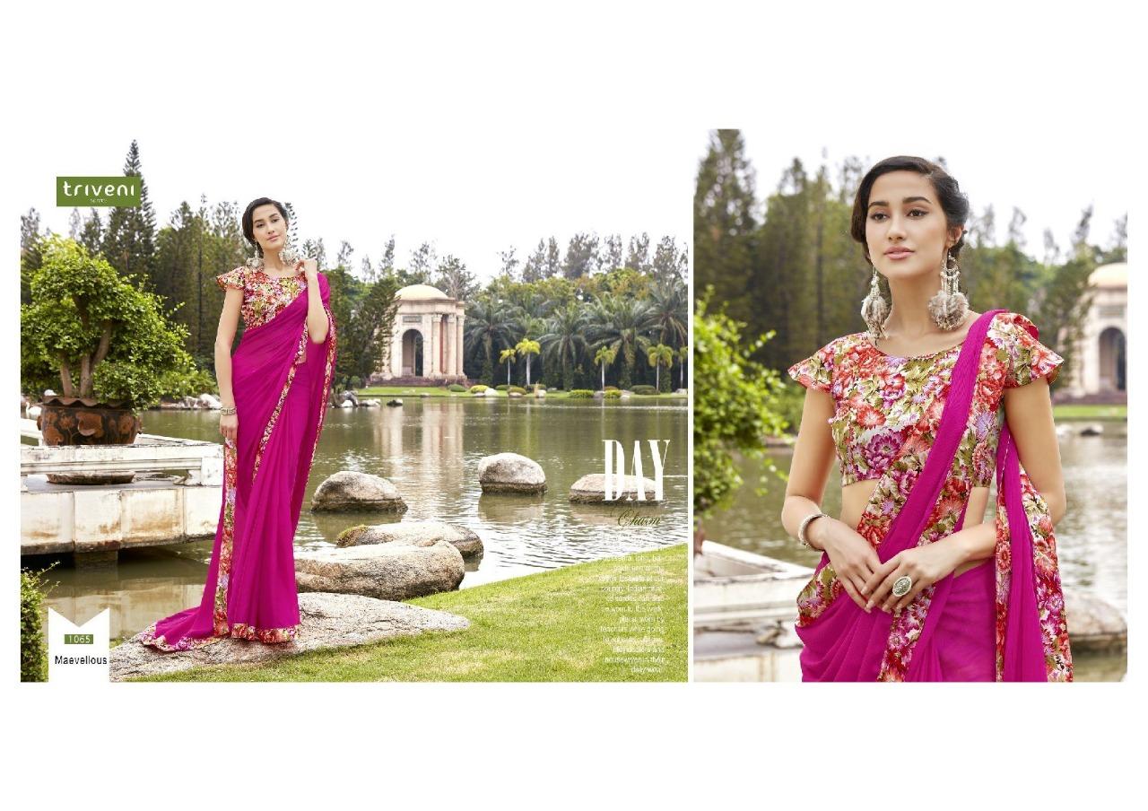 Triveni Saree Shayna 1065