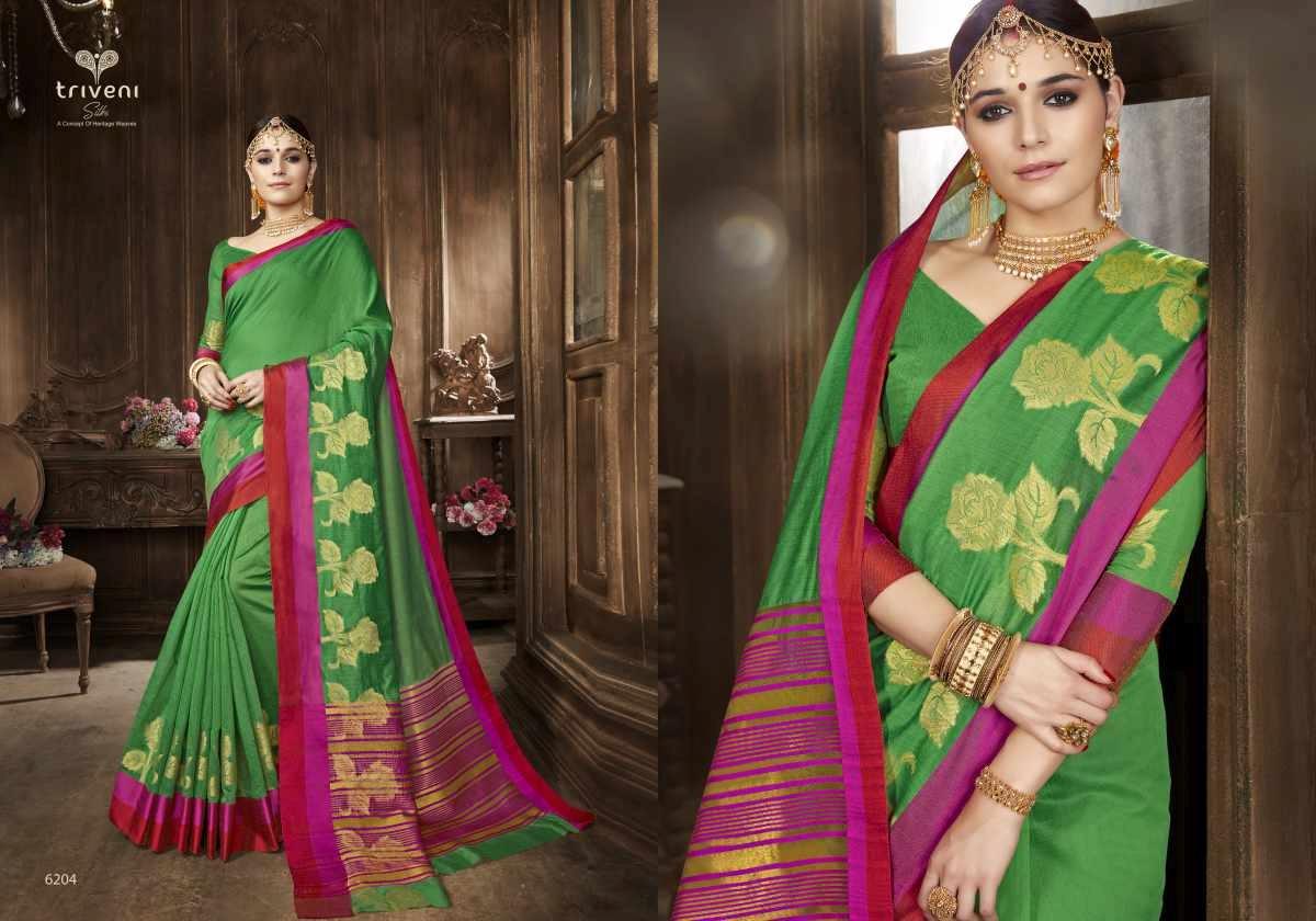 Triveni Saree Swarn 6204