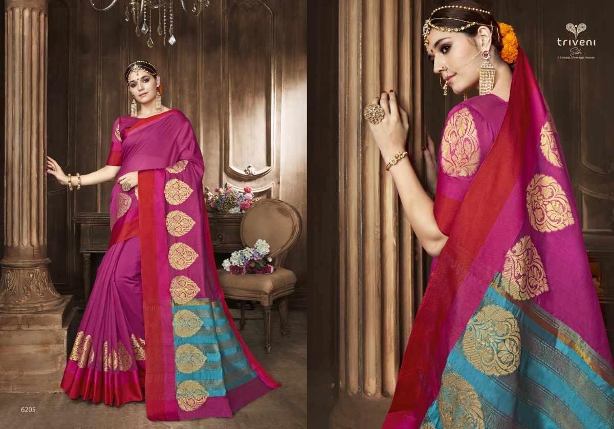 Triveni Saree Swarn 6205