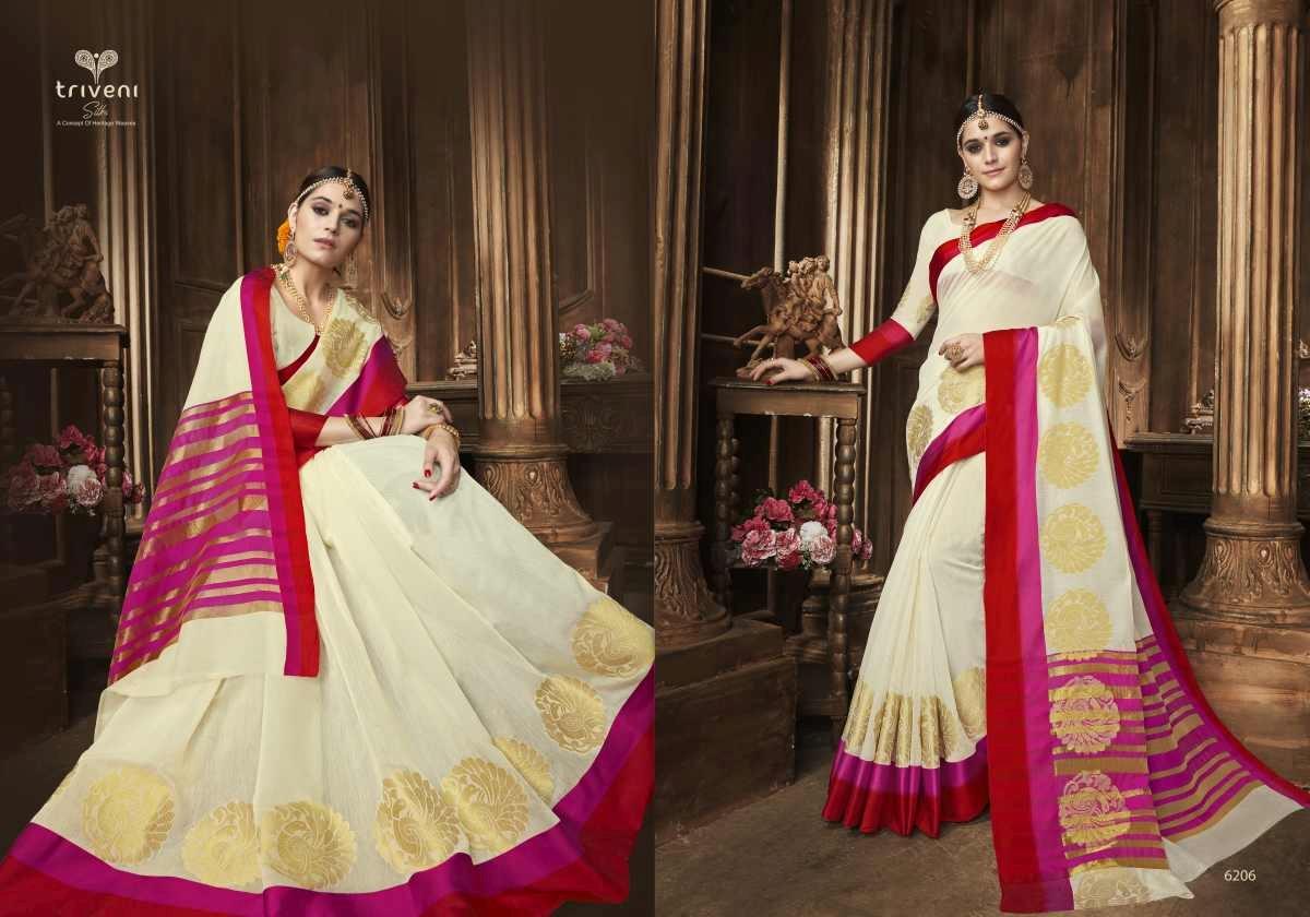 Triveni Saree Swarn 6206