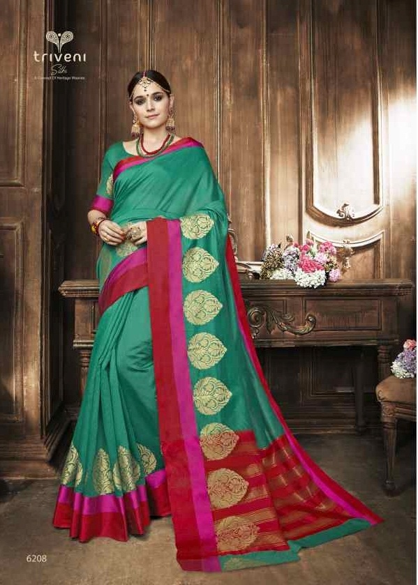 Triveni Saree Swarn 6208