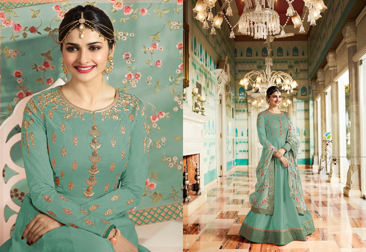 Vinay Fashion Kaseesh Rajmahal Rang Plus 7172C