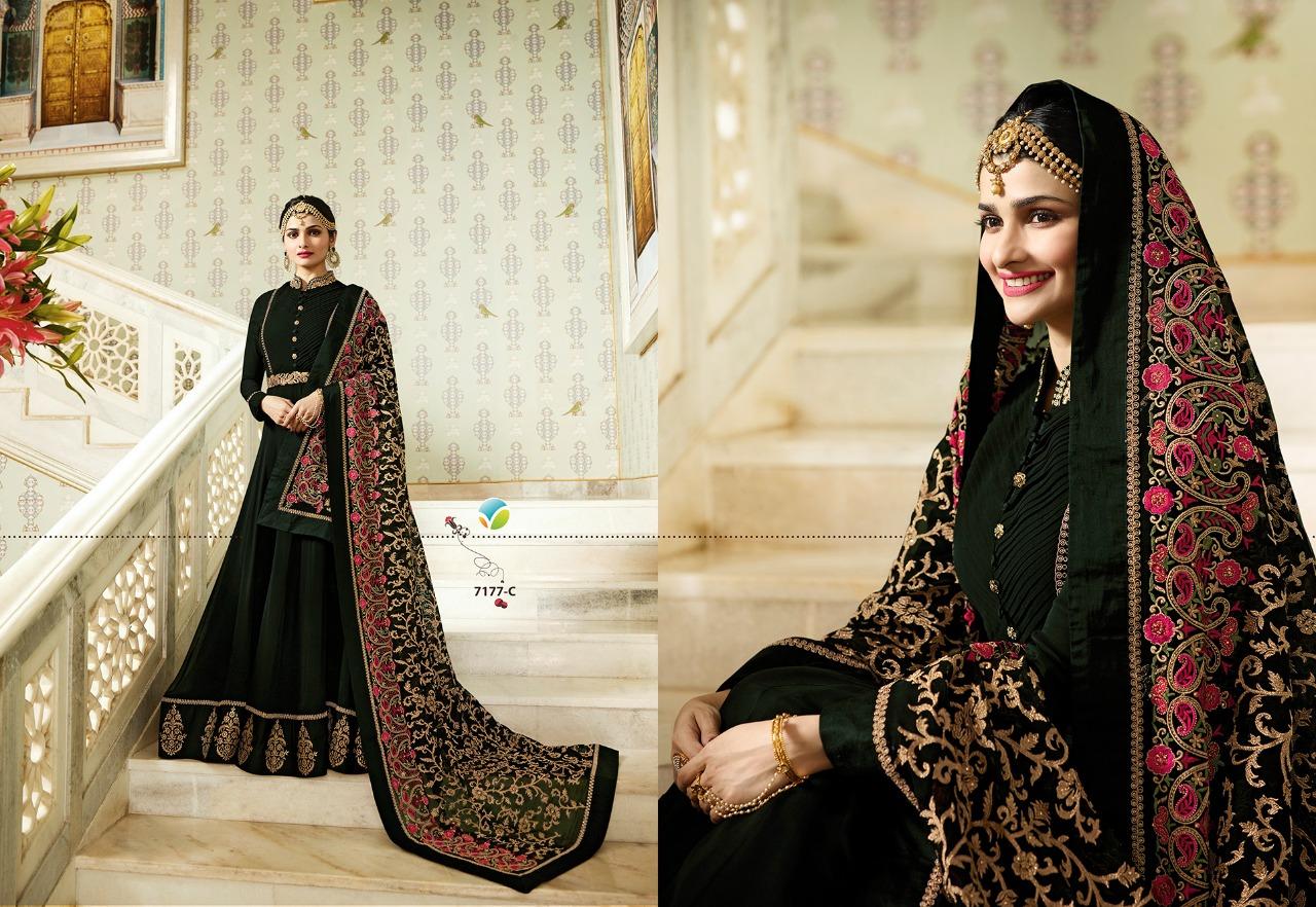 Vinay Fashion Kaseesh Rajmahal Rang Plus 7177C