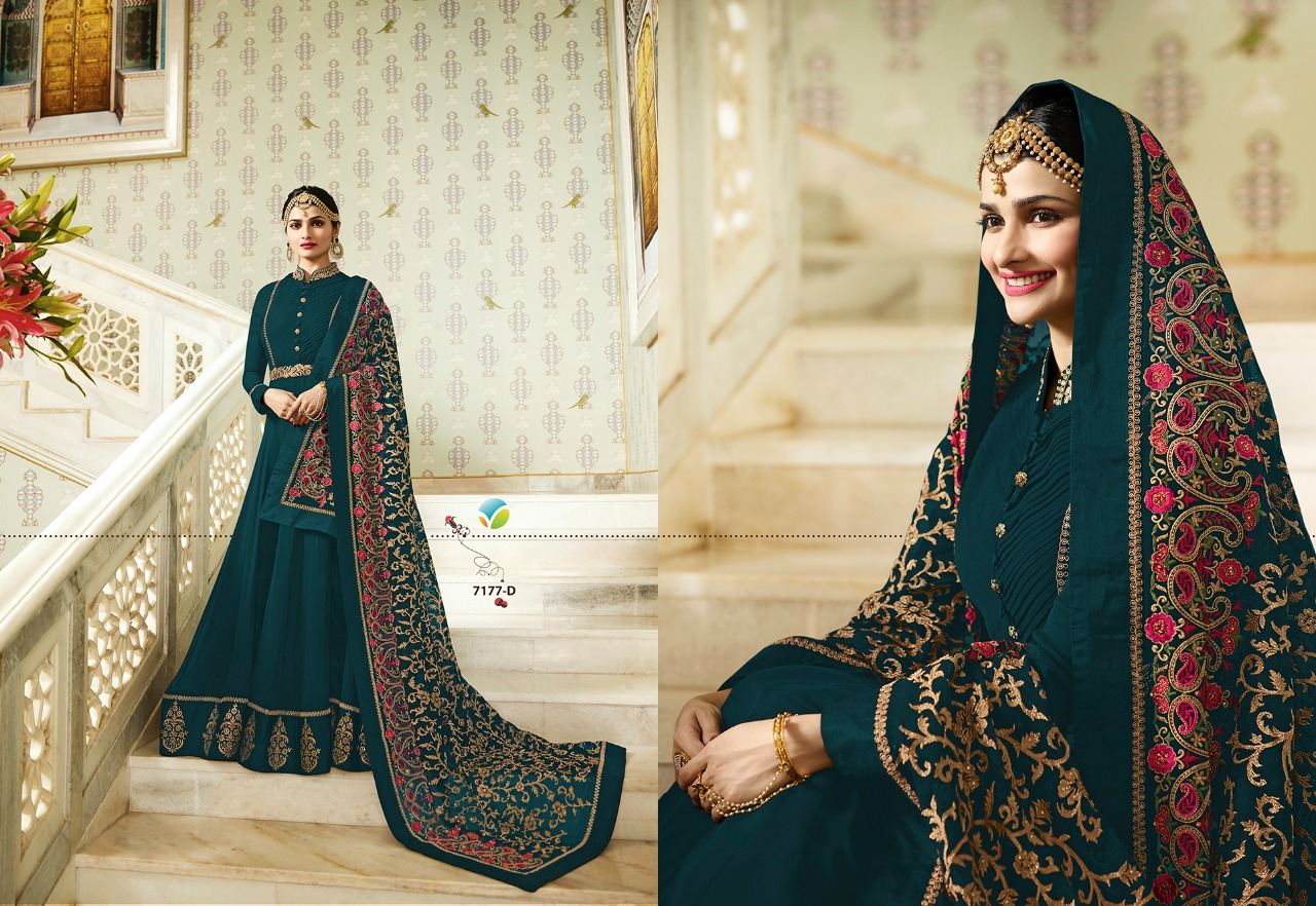 Vinay Fashion Kaseesh Rajmahal Rang Plus 7177D