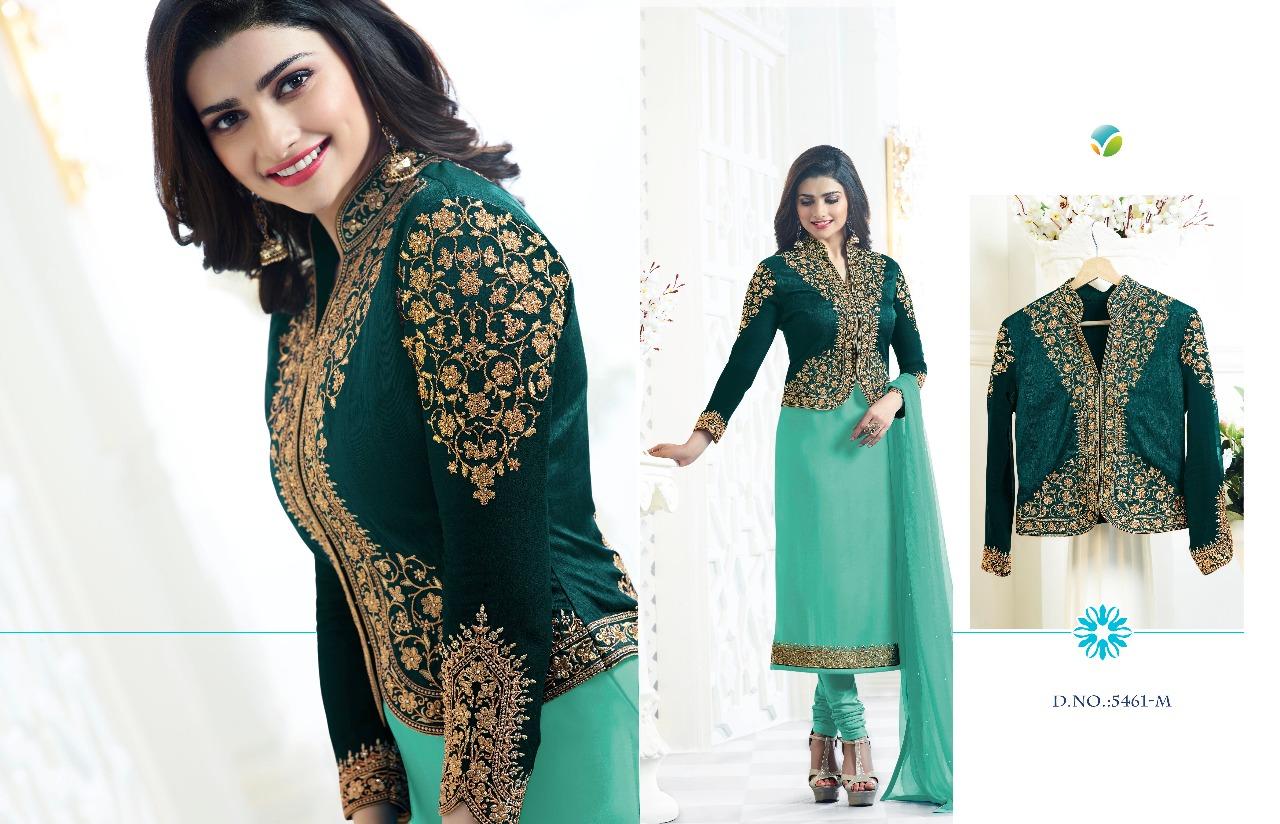 Vinay Fashion Kaseesh Maharani Colorplus 5461M