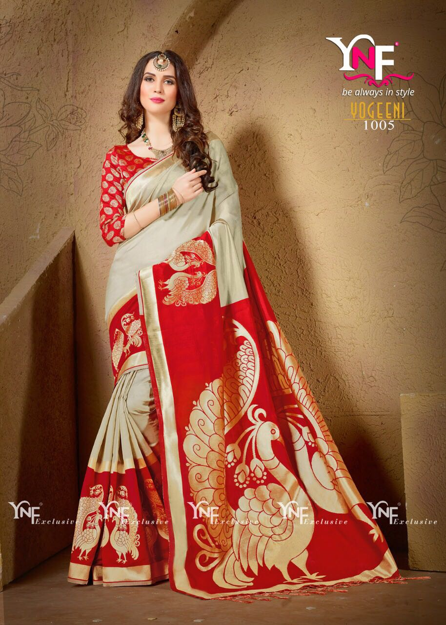 Yadu Nandan Fashion Silk Saree Hit Collection 1005