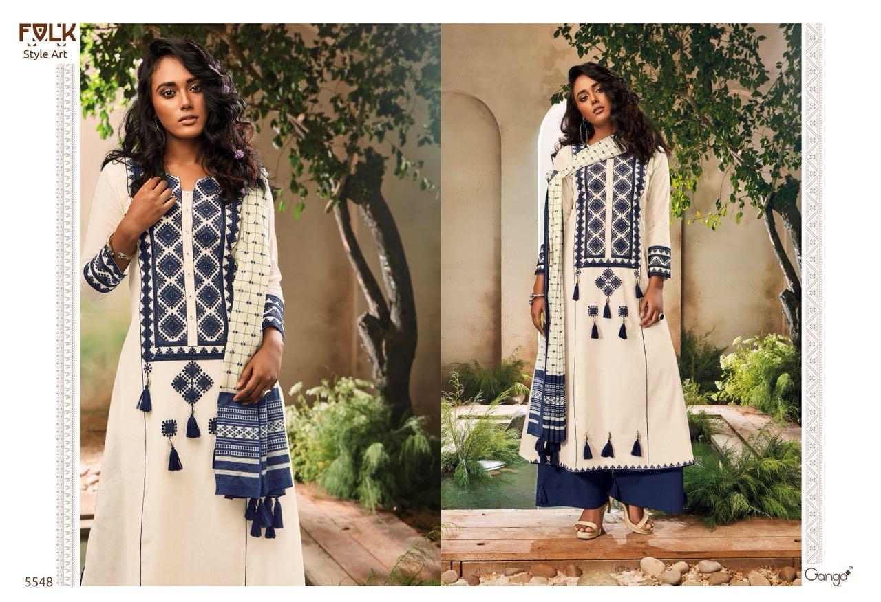 Ganga Folk Style 5548