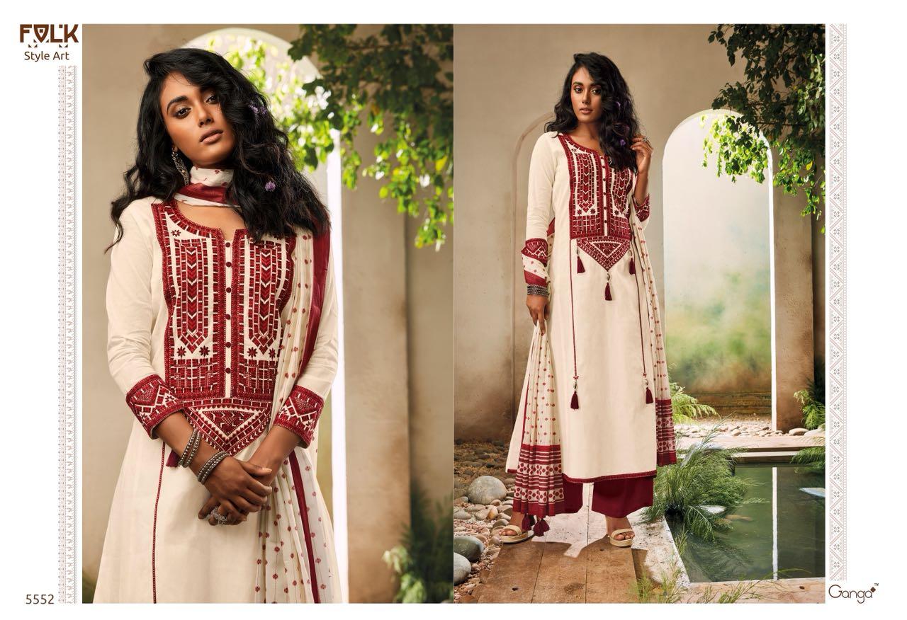 Ganga Folk Style 5552
