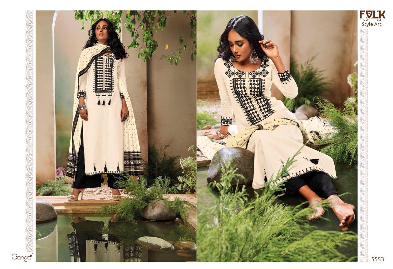 Ganga Folk Style 5553