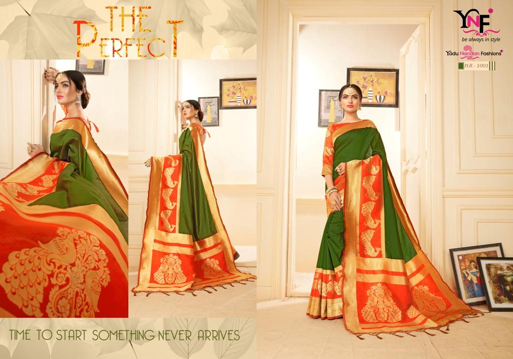 Yadu Nandan Fashion Hariratna Silk 1001