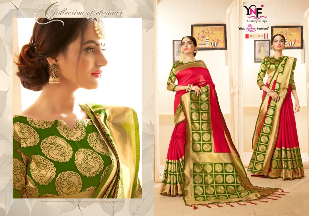 Yadu Nandan Fashion Hariratna Silk 1002