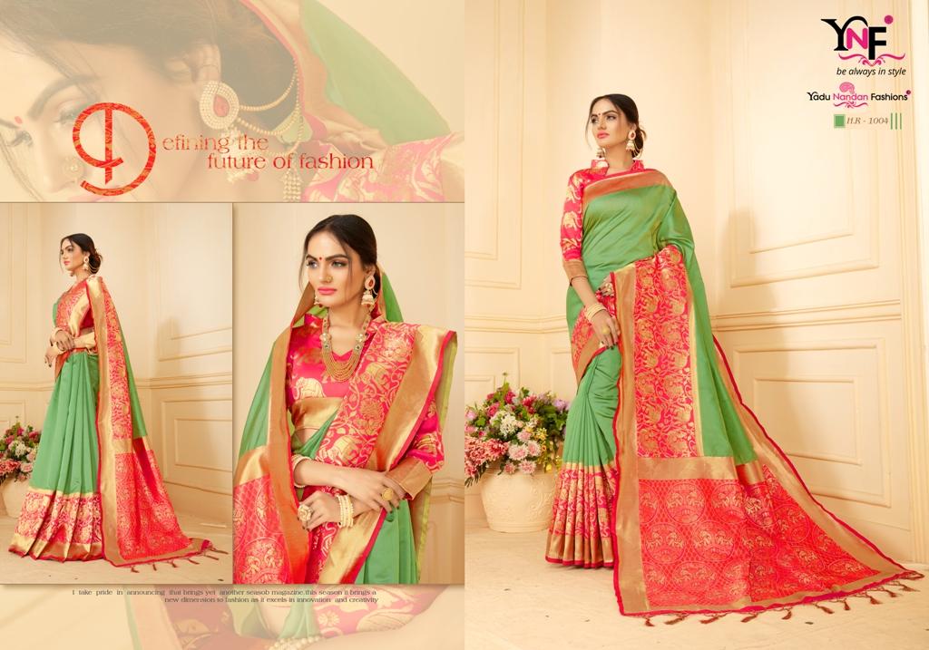 Yadu Nandan Fashion Hariratna Silk 1004