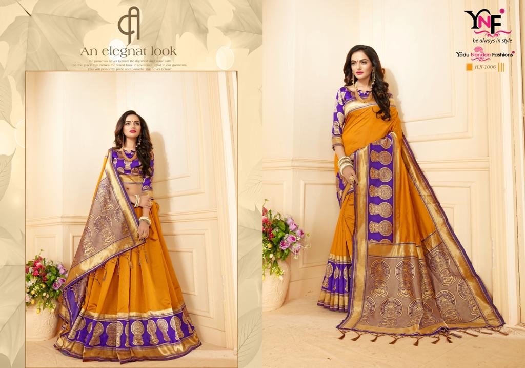 Yadu Nandan Fashion Hariratna Silk 1006