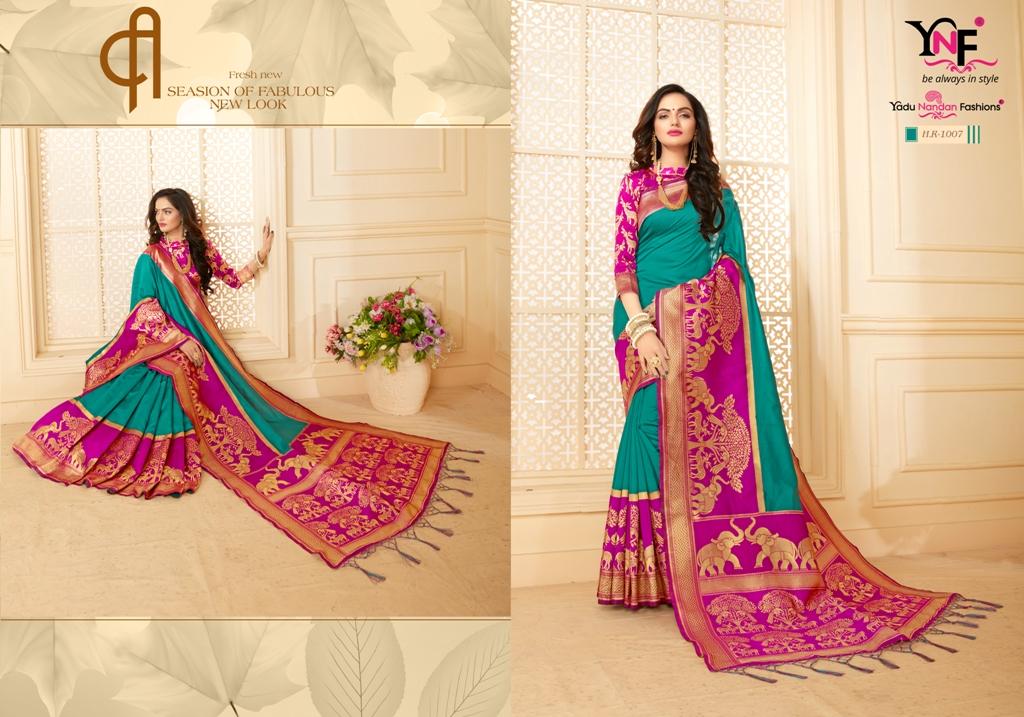 Yadu Nandan Fashion Hariratna Silk 1007