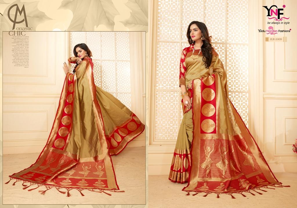 Yadu Nandan Fashion Hariratna Silk 1009