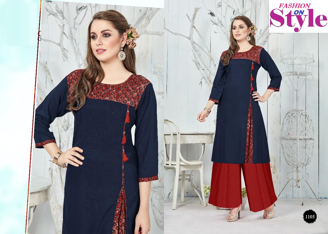 Fashion On Style 1105