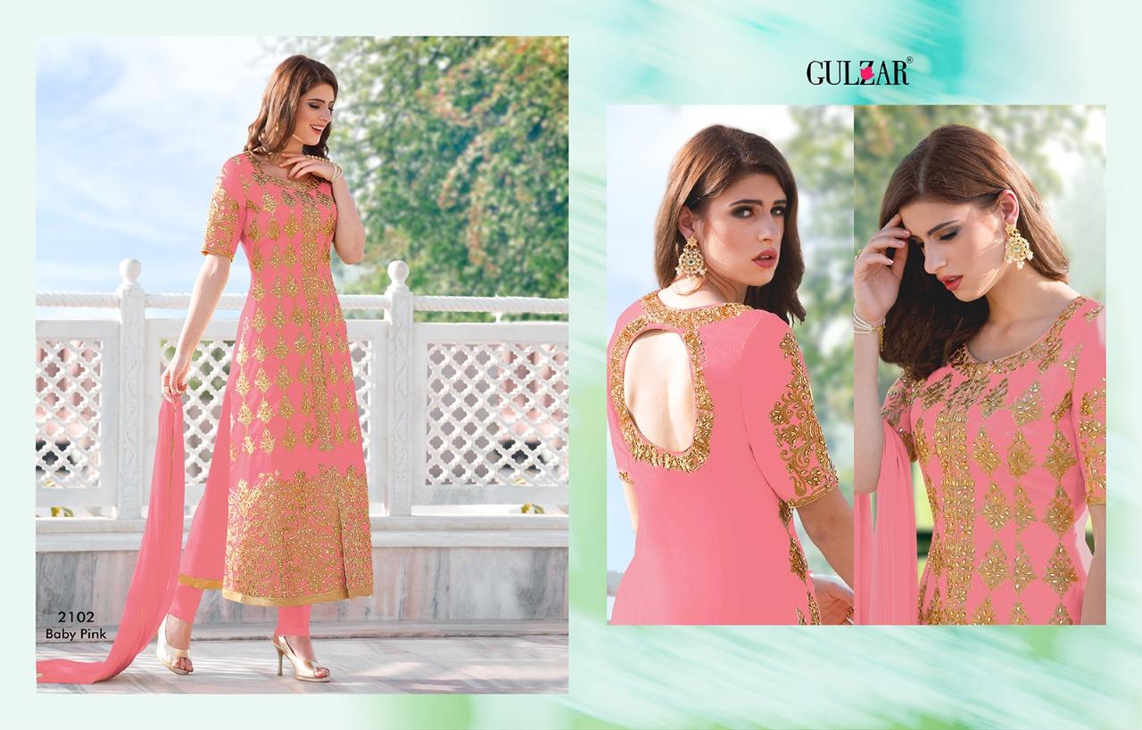 Gulzar Premium Hit Colors 2102 Baby Pink