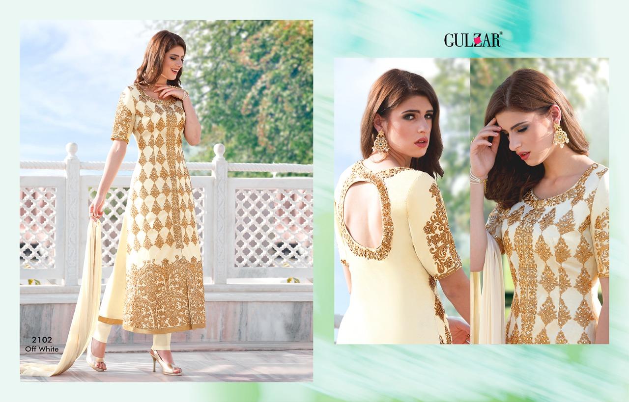 Gulzar Premium Hit Colors 2102 Off White