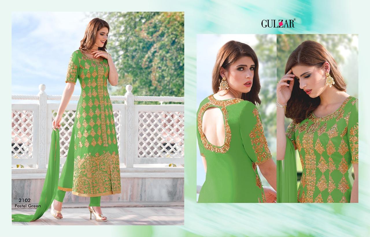 Gulzar Premium Hit Colors 2102 Peacock Green