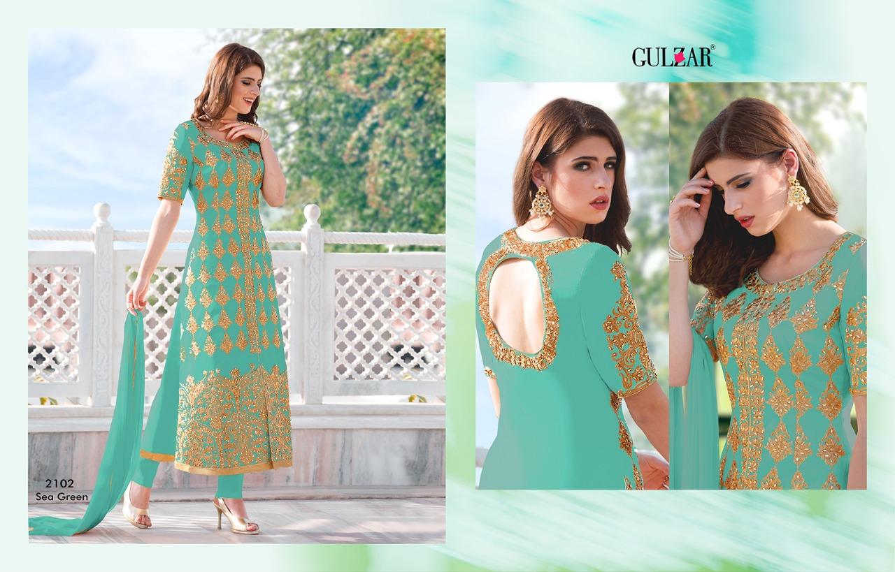 Gulzar Premium Hit Colors 2102 Sea Green
