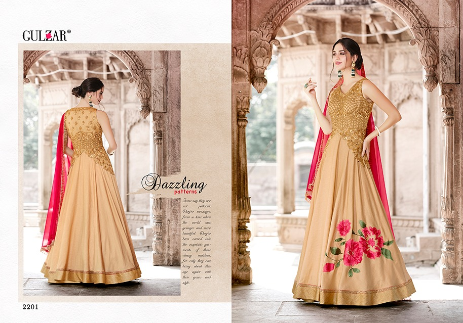 Gulzar Suits Collection 2201