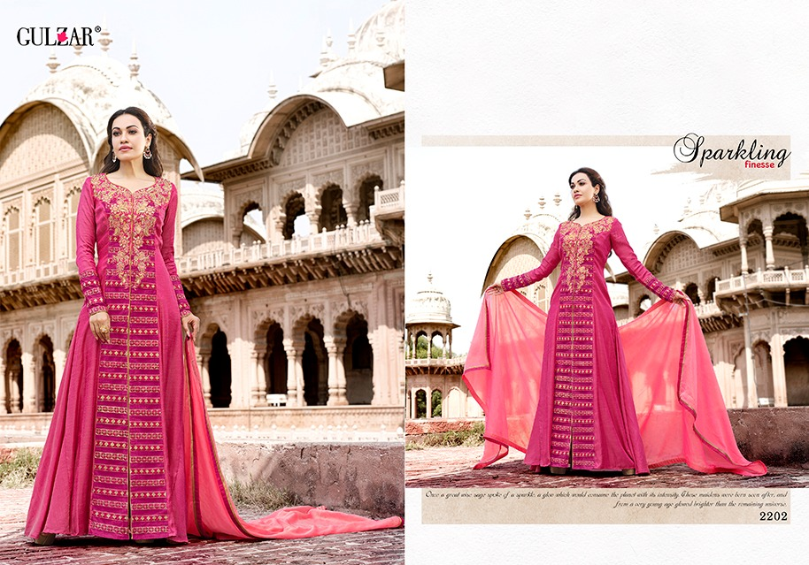 Gulzar Suits Collection 2202