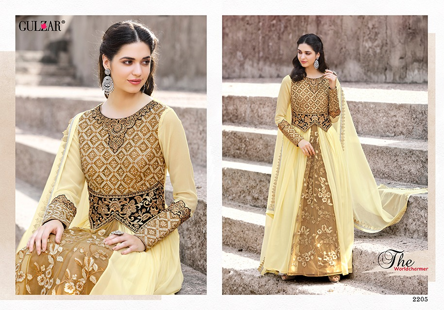 Gulzar Suits Collection 2205